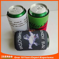 Made-in China advertise printed neoprene beer cooler