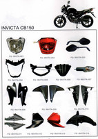 Motorcycle plastic parts for INVICTA CB150