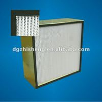 H13 High capacity HEPA filter for clean room