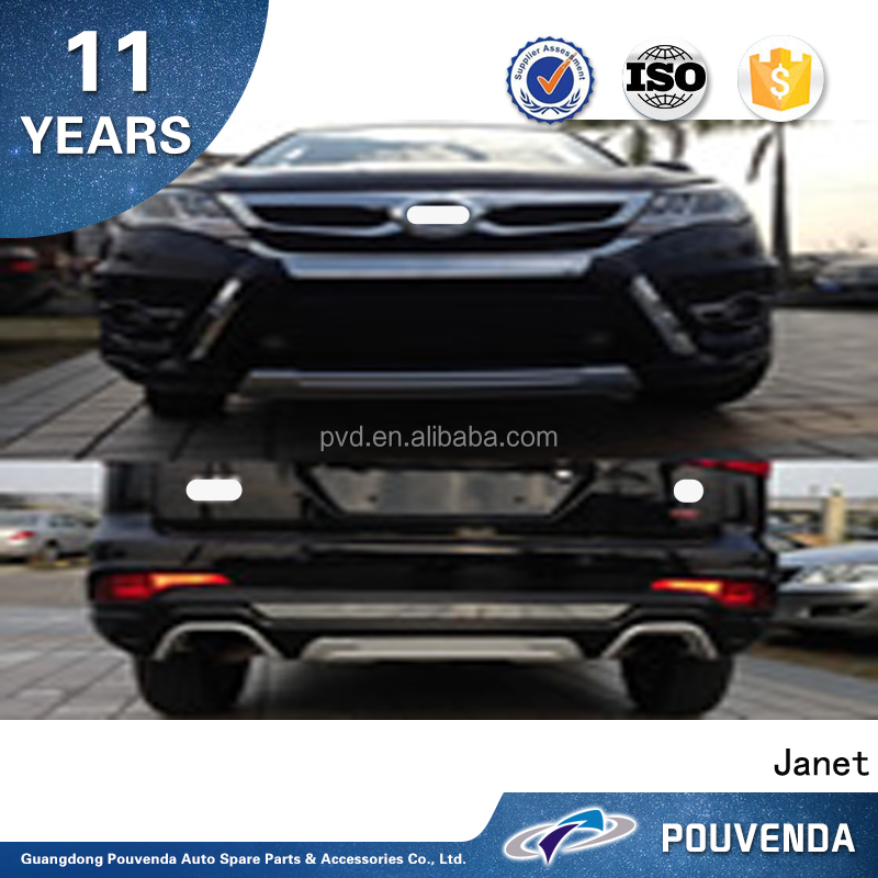 Latest Auto Car Accessories Front & Rear Bumper ( Original type ) For BYD S7 From Pouvenda