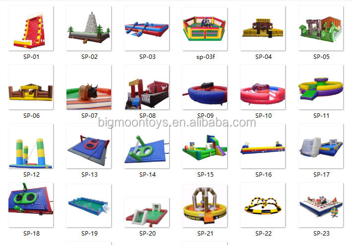 2017 hot commercial inflatable slide for kids