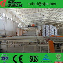 water resistant full automatic gypsum board/plaster tablet production line/manufacturing plant