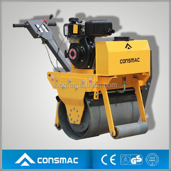 Quality manual single drum used asphalt rollers for sale