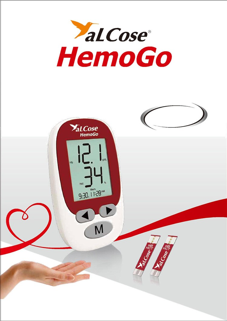 High quality CE approved hemoglobin test meter