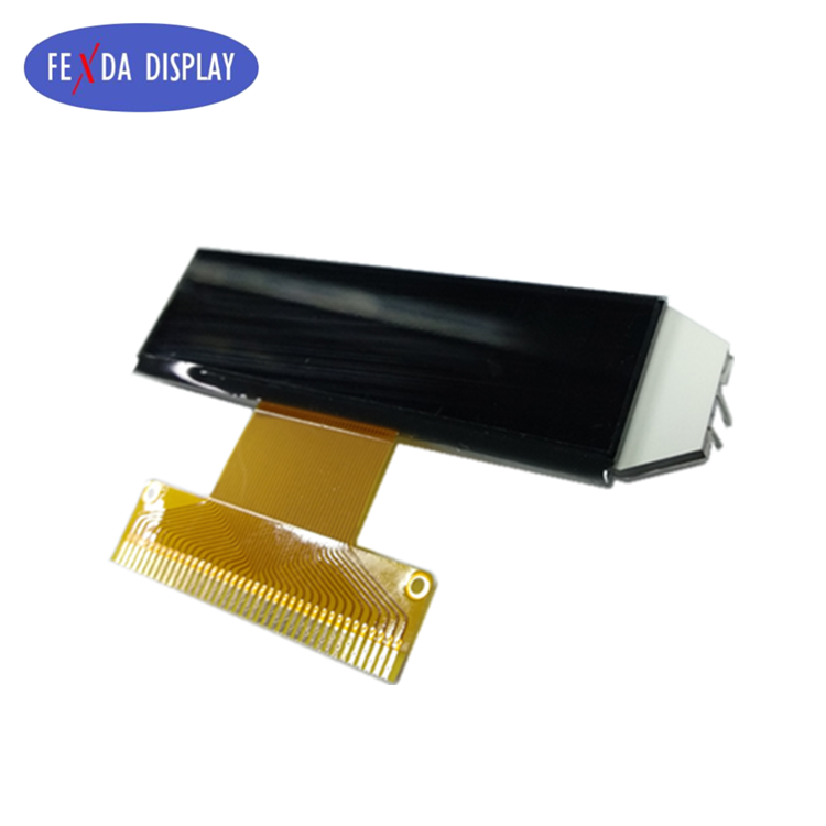 custom monochrome lcd display module transparent DFSTN lcd diaplay panels