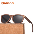 WL279 Wholesale Handmade Custom Logo Top Quality Wood Designer Sunglasses