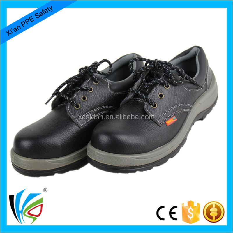 High Quality Safety Equipment Steel Toe Cap Anti-static Safety Leather Shoes