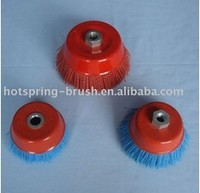 nylon wire cup brushes