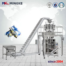 Automatic 1kg grain nut rice bag weighing packaging machine,potato chips packing machine