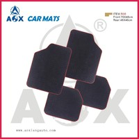 front and rear full set rubber car floor mat clips