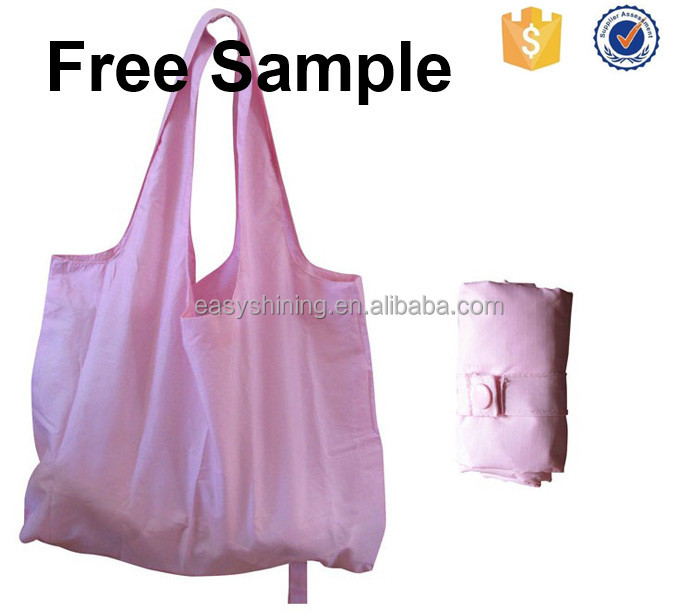 Wholesale Factory Supply Cheap rolling tote shopping Nylon bag