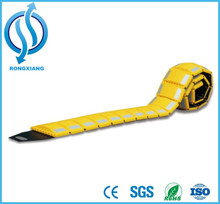 Traffic Product speed bump for highway guard