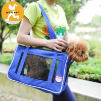 Dog and cat carrier mesh pet tote bag carry bag