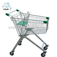 CE & ISO approved shopping trolley smart cart