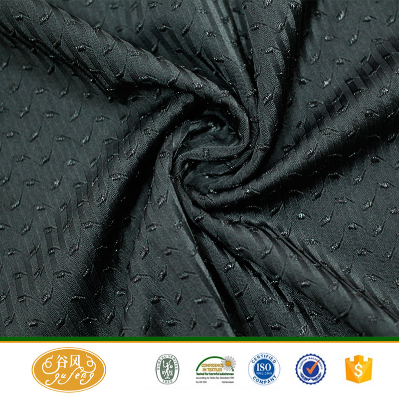 High quality 3d Jacquard knitted lycra fabric for underwear/vest/tshirt