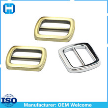 China Factory Wholesale Metal Slide Buckle Findings For Leather Craft