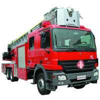 Famous Germany chassis brand emergency and rescue fire fighting truck