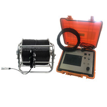 Motorized zoom 1.3MP lens underwater security IP video inspection camera for boat and water well surveillance