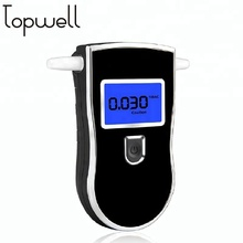 Digital alcohol tester breathalyzer mouthpiece with LCD display for personal Use