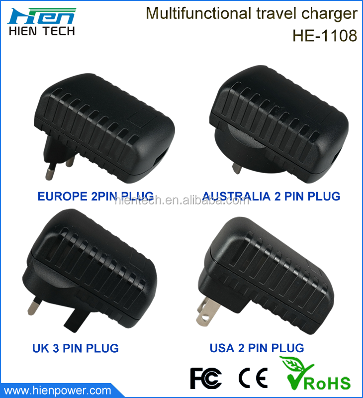 Wholesale 5V1A/2A USB wall charger for mobile phone/tablet PC/camera/mp3/mp4/watch/psp etc