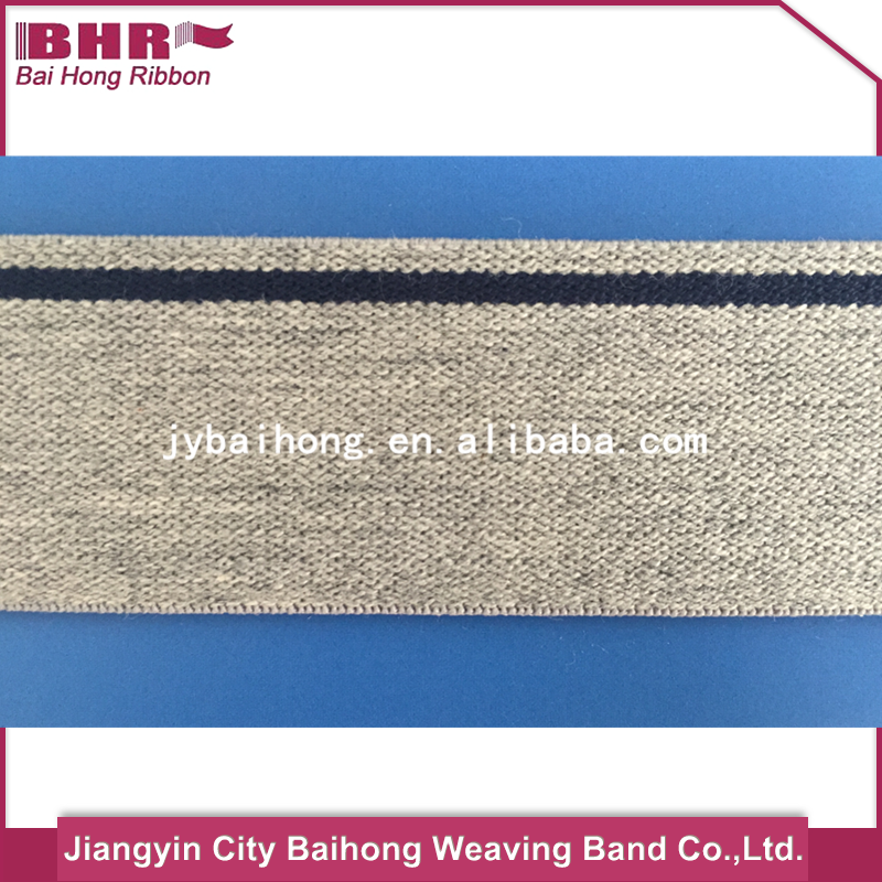 Brand new striped elastic ribbon with high quality