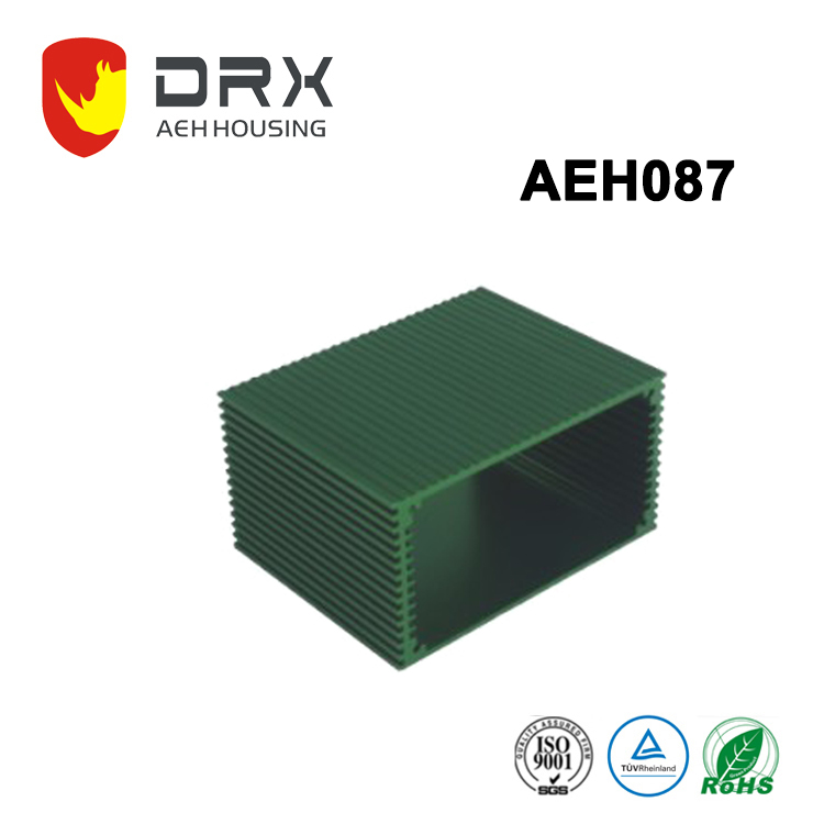 popular anodizing precision machining aluminum enclosure with heat sink for useful industry
