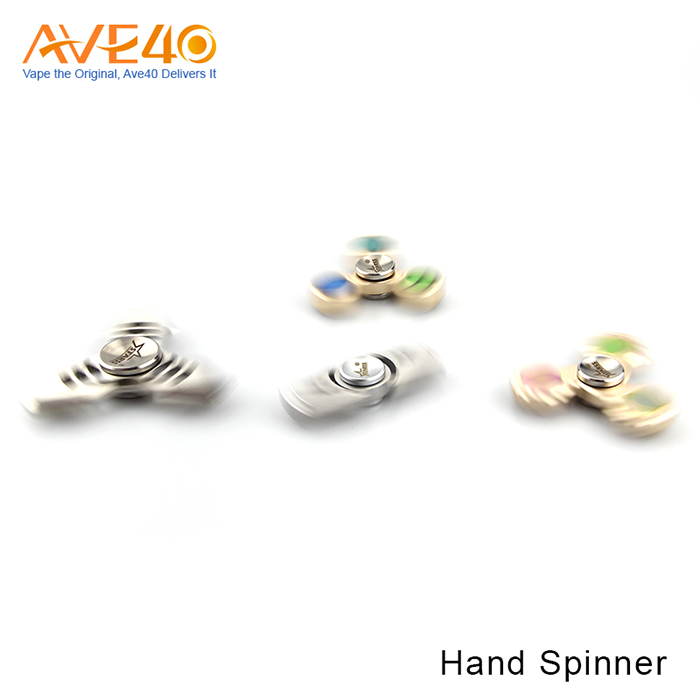 Challenging Tri-Spinner Fidget Toys Hand Spinner Designed and made in CA, USA