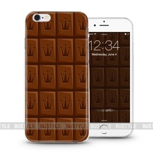 unique chocolate pattern cell phone accessories for iphone 6 plus case