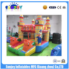 SUNJOY 2016 hot sale inflatable fantasia topic bouncer, baby bouncer, body bouncer for sale