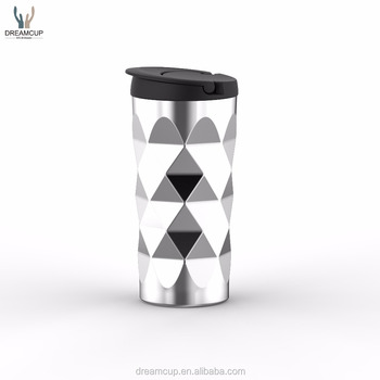 Custom color pantone gold silver non-toxic travel mugs/vacuum double wall stainless steel tumbler for sale