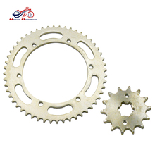 China wheel chain motorcycle sprockets and gold plated chains