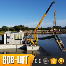 New condition fixed boom 3 ton marine cranes manufacturers