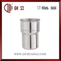 18OZ stainless steel metal wine cups