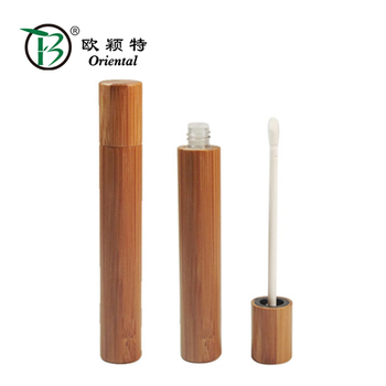 BLM-020 New bamboo lipgloss tube for wholesale