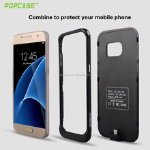 Trade Assurance Mobilephone Case Supplier Battery Charger Case for Samsung S7 edge Cover