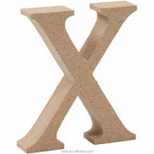 Large 15cm wooden MDF letters numbers and symbols