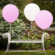 White and Pink Color Balloons for Wedding Decoration SBR020