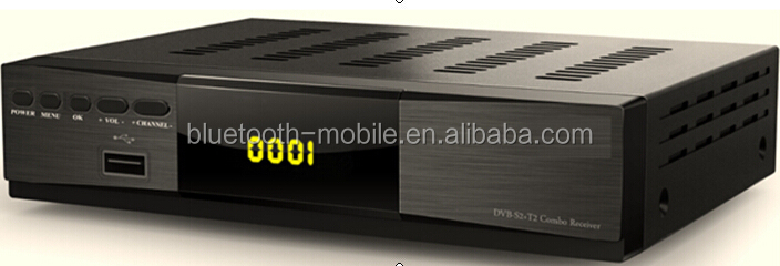Factory direct best hot selling HD DVB S2+T2 COMBO decoder with wifi youtube iks biss powervu