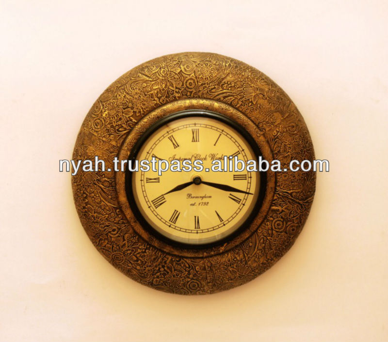 LOW PRICE BEST QUALITY HAND PAINTED WALL CLOCK