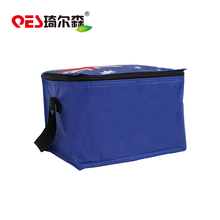 Factory sale unique design insulated polyester eco-friendly portable folding cooler bag