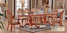 10 seater wood extendable dining table (NG2877)