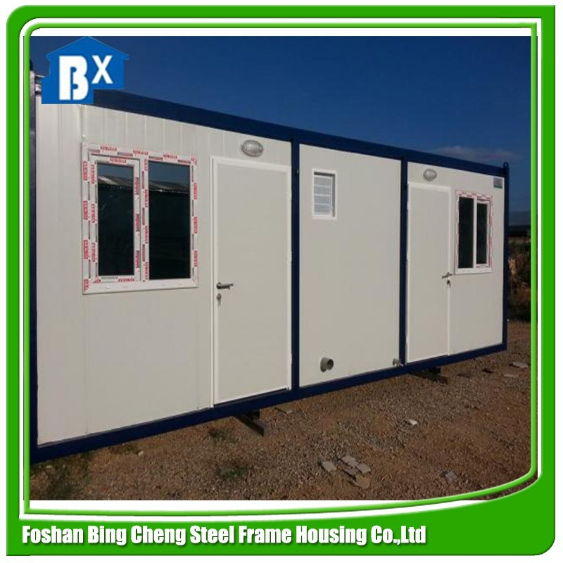 steel structure prefabricated house and container homes