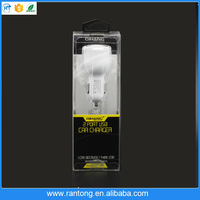 alibaba best sell universa Dual car charger USB for mobile made in china