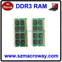 Sodimm memory ram ddr3 4gb laptop ddr ram with good price