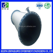 ISO certificates corrosion protection and anti-friction coated carbon steel rubber lined pipe