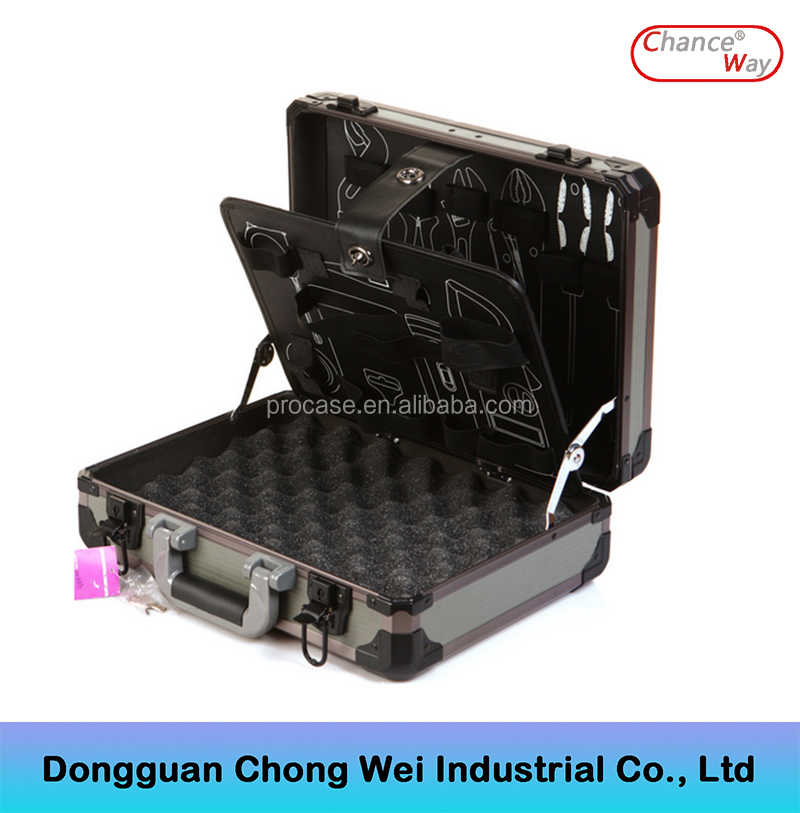 Factory Price Aluminum Tool Box Flight tool Case Workbox Road Case