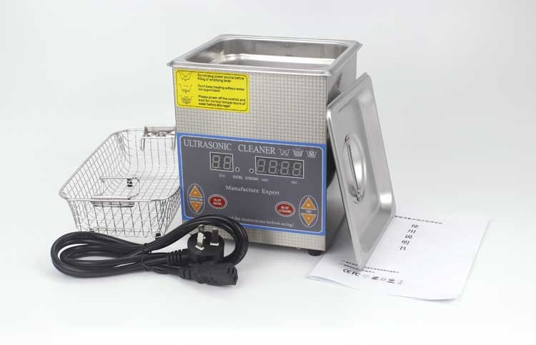1.3 liter digital display ultrasonic cleaner for lab using