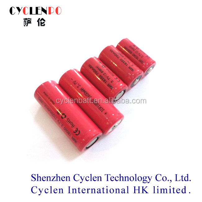 3.7v IMR13500 / 13650 / 14500 / 14650 China Manufacturer long lasting e cig battery