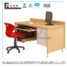 Popular Classic Cherry Wood Office Desk with Modern Round Edge