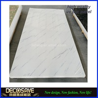 integrated wall panel for bathroom / bathroom wall cladding pvc panel / plastic laminated wall panel